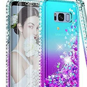 Samsung Galaxy S8 CaseTeal and Purple